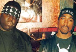Notorious BIG and Tupac Shakur