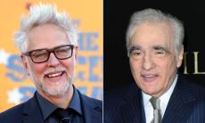 James Gunn and Martin Scorsese