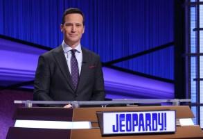 Jeopardy Guest Host Mike RichardsCredit: Carol Kaelson/Jeopardy Productions, Inc.