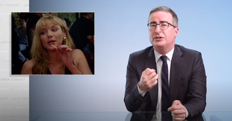 """John Oliver rips into """"And Just Like That"""" on """"Last Week Tonight"""""""