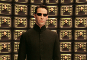 "Keanu Reeves, ""The Matrix Reloaded"""