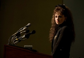 """Impeachment: American Crime Story """"Exiles"""" Episode 1 (Airs Tuesday, September 7) -- Pictured: Annaleigh Ashford as Paula Jones. CR: Tina Thorpe/FX"""