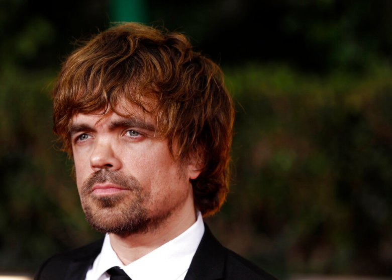 Peter Dinklage arrives at the 69th Annual Golden Globe Awards Sunday, Jan. 15, 2012, in Los Angeles. (AP Photo/Matt Sayles)