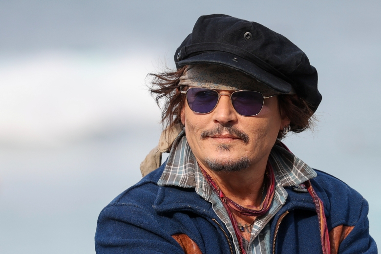 Actor Johnny Depp arrives at the 69th San Sebastian International Film Festival to receive the Donostia Award at the Kursaal Palace on 22 September 2021 in San Sebastian, Basque Country (Spain). Johnny Depp receives this Wednesday the Donostia Award for being considered ''one of the most talented and versatile actors of contemporary cinematography''. The interpreter receives the award a year after his visit to the Zinelmadia where he presented 'Drinking with Shane MacGowan', a film with which he won the Special Jury Prize. The presentation of this award to Johnny Depp is not exempt of controversy because the actor is currently going through several legal proceedings arising from accusations of abuse by his ex-wife. SAN SEBASTIAN;CINEMA;AWARD;ACTOR Raúl Terrel / Europa Press 09/22/2021 (Europa Press via AP)