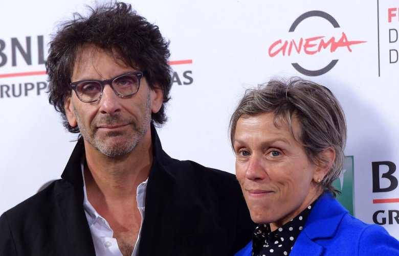 US actress Frances McDormand (R) and her husband US director Joel Coen pose during a photocall before meeting the audience at the Xth Rome Film Festival, on October 16, 2015 in Rome. Photo by Eric Vandeville / Sipa USA