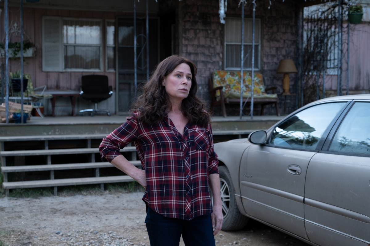 """Maura Tierney as Grace Poe in AMERICAN RUST, """"The Mill"""". Photo credit: Dennis Mong/SHOWTIME."""