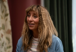 """Daisy Haggard as Miri in BACK TO LIFE,  """"Episode 2"""".  Photo credit: Luke Varley/SHOWTIME."""