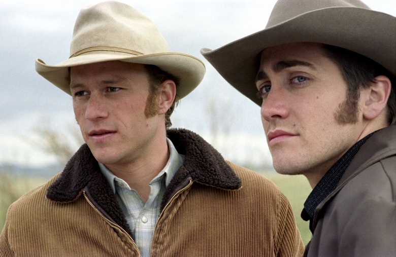 BROKEBACK MOUNTAIN, Heath Ledger, Jake Gyllenhaal, 2005, (c) Focus Features/courtesy Everett Collection