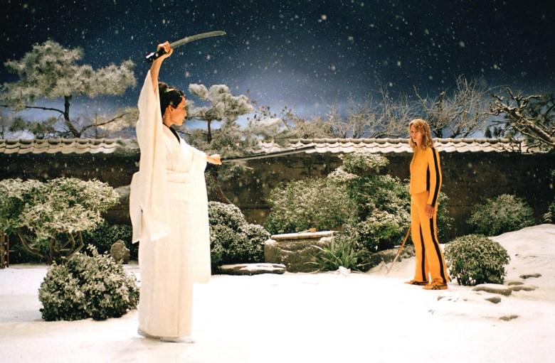 KILL BILL, Lucy Liu, Uma Thurman, 2003, (c) Miramax/courtesy Everett Collection
