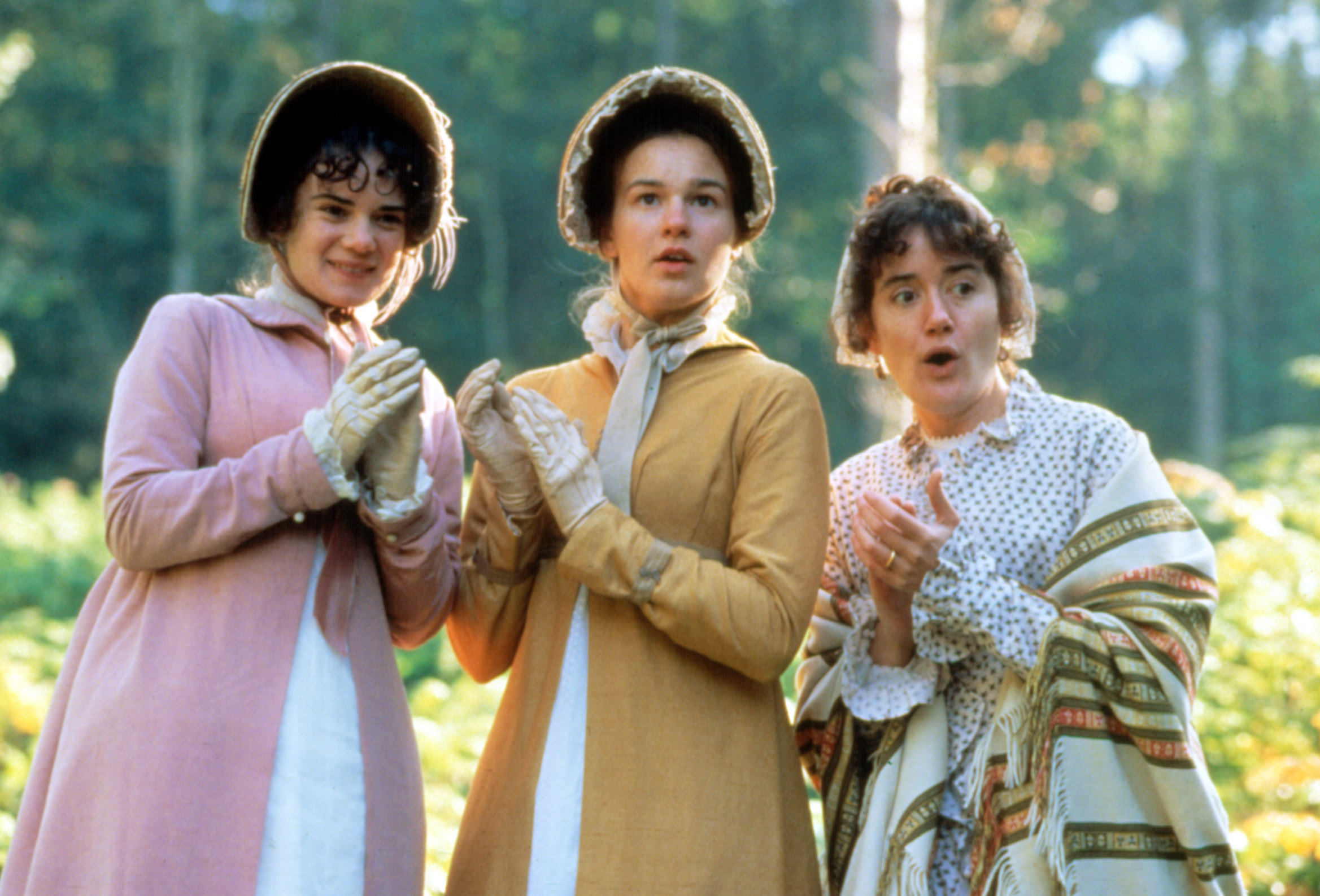 PERSUASION, Victoria Hamilton, Emma Roberts, Sophie Thompson, 1995