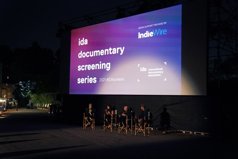 IndieWire's Anne Thompson moderates a post-screening