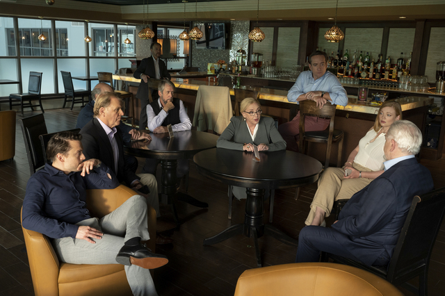 """A photo from the production of """"Succession"""" in White Plains, N.Y., on Thursday, Nov. 19, 2020. Photo: David M. Russell/HBO ©2020 HBO. All Rights Reserved"""
