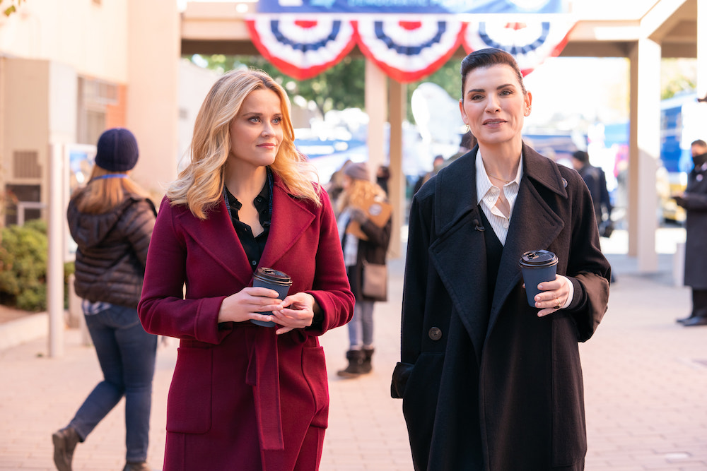 """Reese Witherspoon in """"The Morning Show"""" Season 2 Julianna Margulies kiss"""
