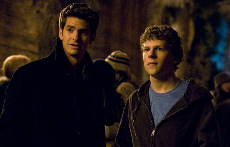 """Andrew Garfield in """"The Social Network"""""""