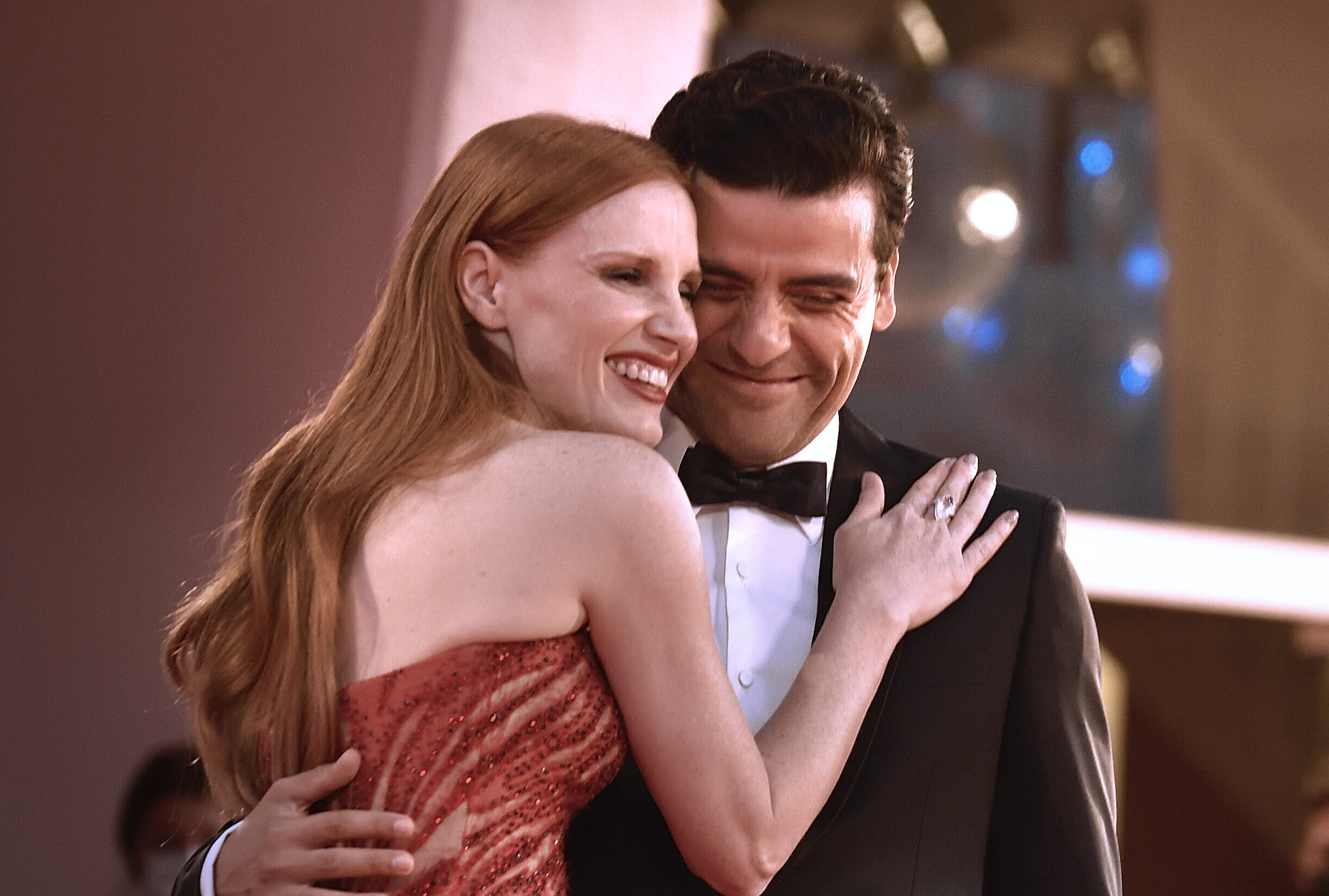 Oscar Isaac Sang to Chastain to Ease Scenes from a Marriage Sex Scenes   IndieWire