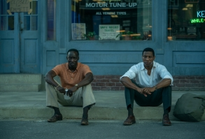"""Michael K Williams and Jonathan Majors in """"Lovecraft Country"""""""