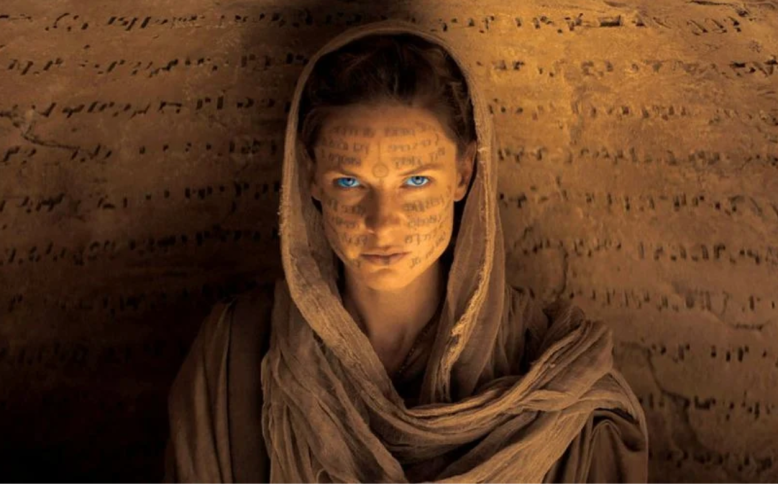 "Rebecca Ferguson as Lady Jessica in ""Dune"""