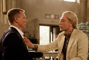"""Daniel Craig, Javier Bardem in """"Skyfall"""""""