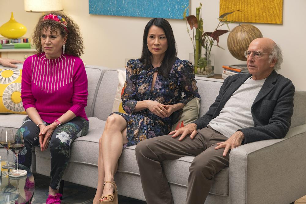 Curb Your Enthusiasm Season 11 Larry David Lucy Liu Susie Essman