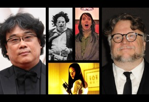 Bong Joon Ho, Guillermo del Toro, and favorite horror movies.