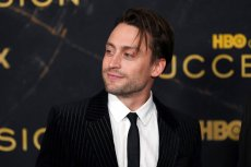 """Kieran Culkin attends HBO's """"Succession"""" season 3 premiere at the American Museum of Natural History on Tuesday, Oct. 12, 2021, in New York. (Photo by Charles Sykes/Invision/AP)"""