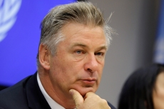 """FILE - In this Sept. 21, 2015, file photo, actor Alec Baldwin attends a news conference at United Nations headquarters. Experts predict a tremendous legal fallout after Baldwin pulled the trigger on a prop gun while filming """"Rust"""" in New Mexico and unwittingly killed a cinematographer and injured a director. (AP Photo/Seth Wenig, File)"""