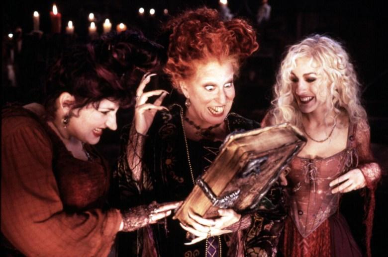 HOCUS POCUS, Kathy Najimy, Bette Midler, Sarah Jessica Parker, 1993,