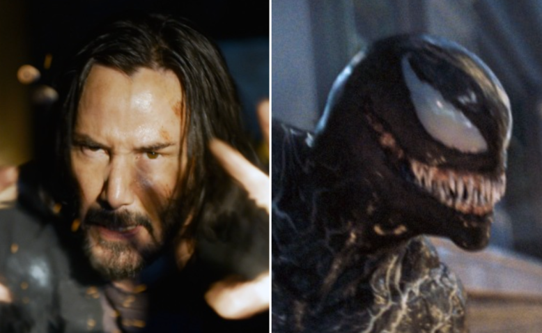 """""""The Matrix Resurrections"""" and """"Venom: Let There Be Carnage"""""""