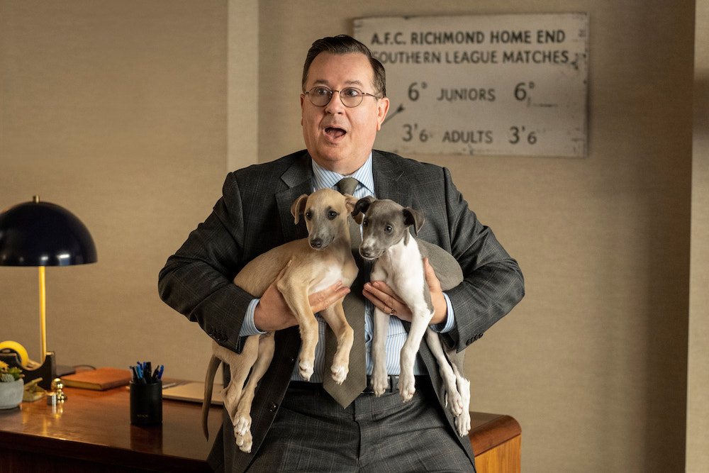Ted Lasso Season 2 finale Jeremy Swift Higgins dogs