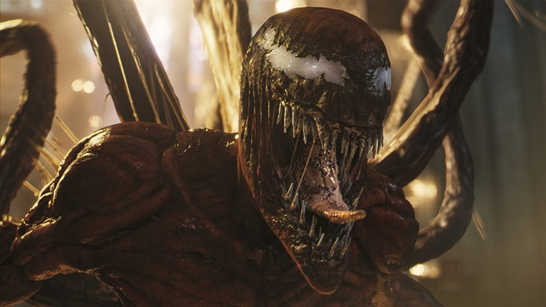 VENOM: LET THERE BE CARNAGE, (aka VENOM 2), Carnage, 2021. © Sony Pictures Releasing / © Marvel Entertainment / Courtesy Everett Collection