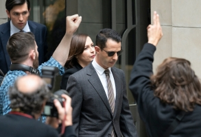 Succession Season 3 Episode 1 Kendall Jeremy Strong Cousin Greg