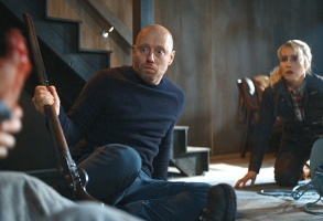 """Aksel Hennie and Noomi Rapace in """"The Trip"""""""
